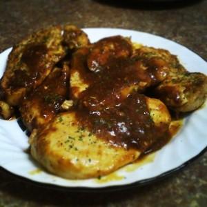 my sauteed chicken